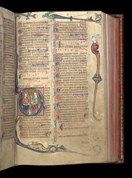 Psalm 109, in the Penwortham Breviary